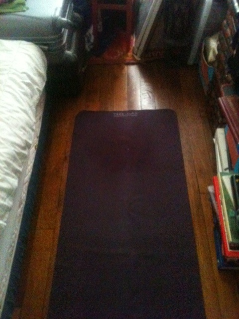 My old yoga mat